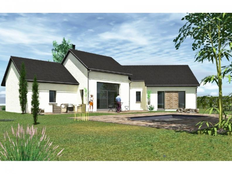 Modèle de maison PP124_P66V11 : Vignette 1