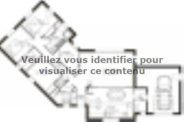 Plan de maison PP124_P66V11 4 chambres  : Photo 1