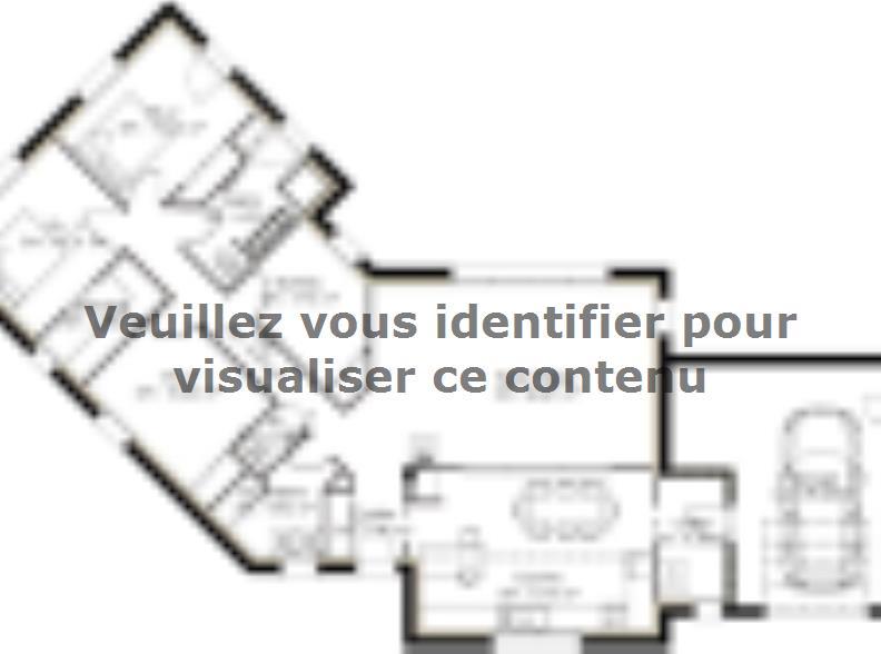 Plan de maison PP124_P66V11 : Vignette 1