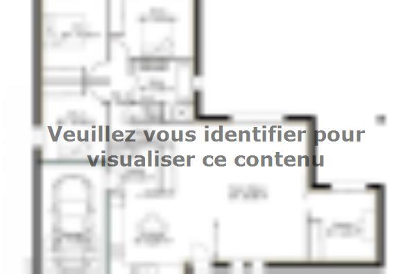 Plan de maison PP113_P1478V8 3 chambres  : Photo 1