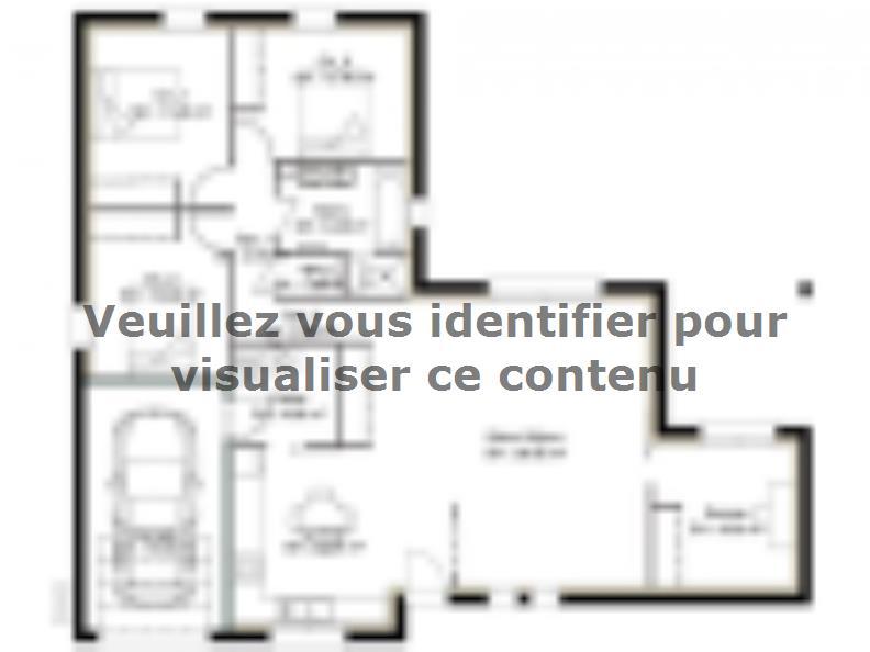 Plan de maison PP113_P1478V8 : Vignette 1