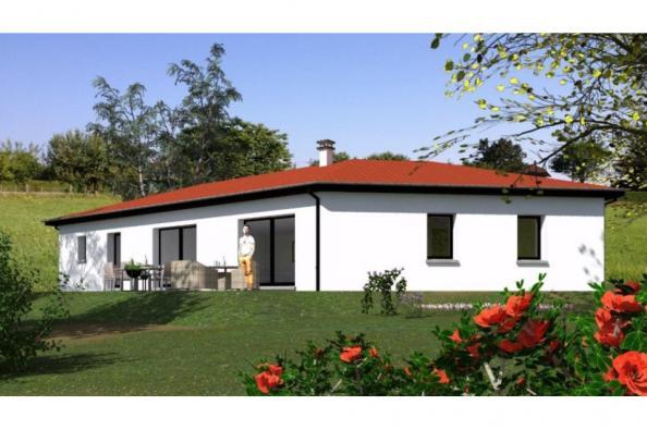 Modèle de maison PP135_P1271V2 5 chambres  : Photo 1