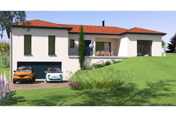 Modèle de maison SS159_P1176V2 3 chambres  : Photo 1