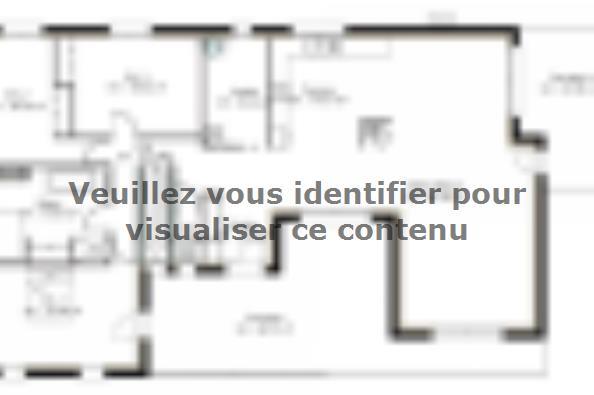 Plan de maison SS159_P1176V2 3 chambres  : Photo 1