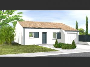Maison neuve à Saligny (85170)<span class='prix'> 153400 €</span> 153400