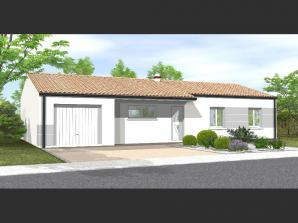 Maison neuve à La Roche-sur-Yon (85000)<span class='prix'> 187300 €</span> 187300
