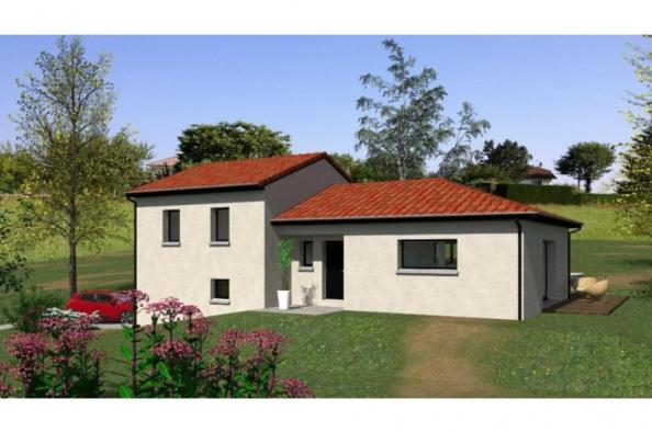 Modèle de maison D96_P1478 4 chambres  : Photo 1
