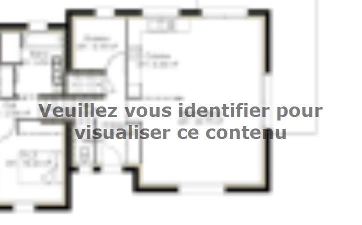 Plan de maison D96_P1478 : Vignette 1