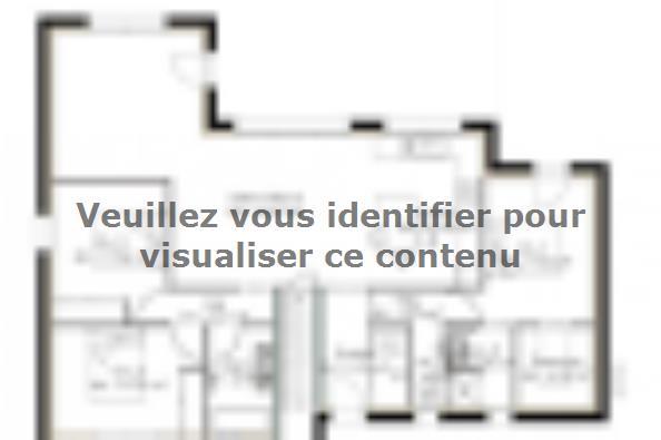 Plan de maison SS104_P1455V2 3 chambres  : Photo 1