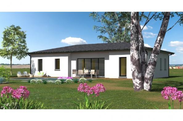 Modèle de maison PP103_P1256V5 3 chambres  : Photo 1
