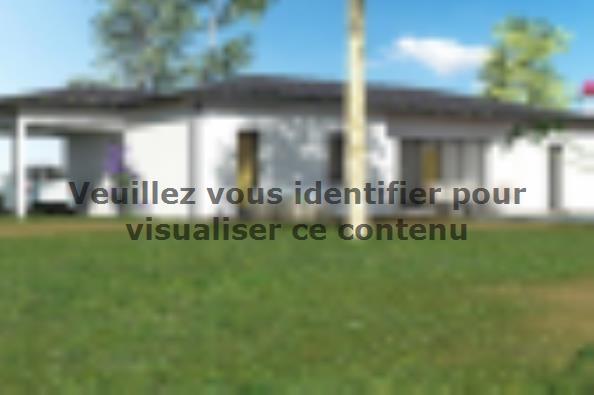 Plan de maison PP103_P1256V5 3 chambres  : Photo 1