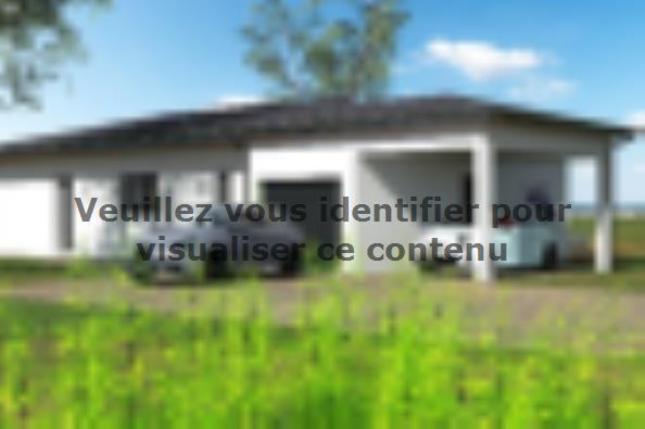 Plan de maison PP103_P1256V5 3 chambres  : Photo 2