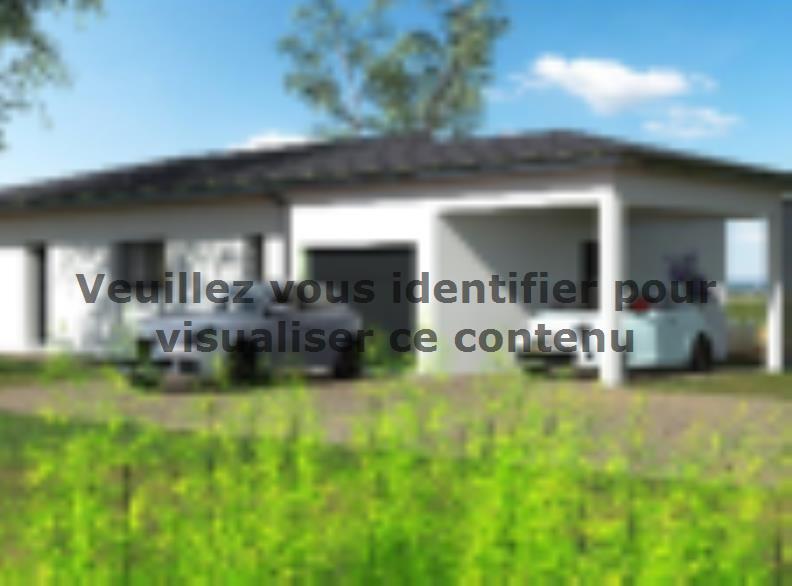 Plan de maison PP103_P1256V5 : Vignette 2