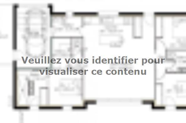Plan de maison PP103_P1256V5 3 chambres  : Photo 3
