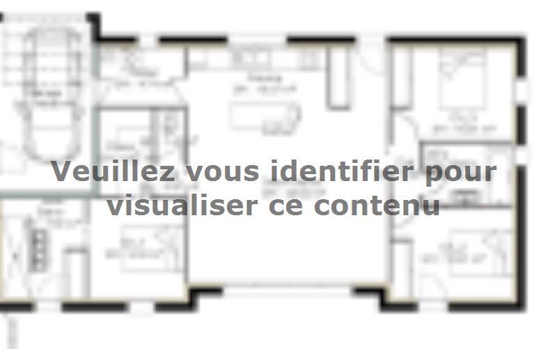Plan de maison PP103_P1256V5 : Vignette 3