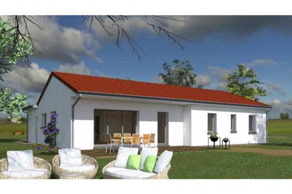Modèle de maison PP121_P1134V2 3 chambres  : Photo 1