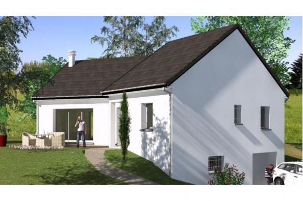 Modèle de maison SS86_P1171V3 2 chambres  : Photo 1