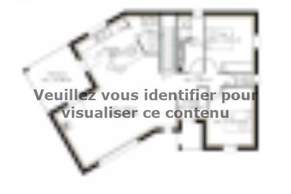 Plan de maison SS86_P1171V3 2 chambres  : Photo 1