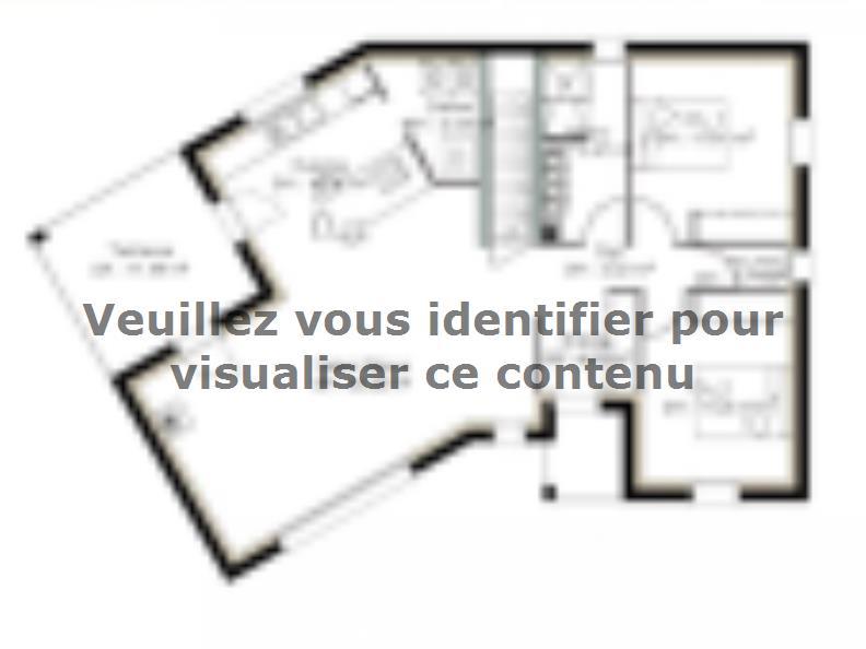 Plan de maison SS86_P1171V3 : Vignette 1