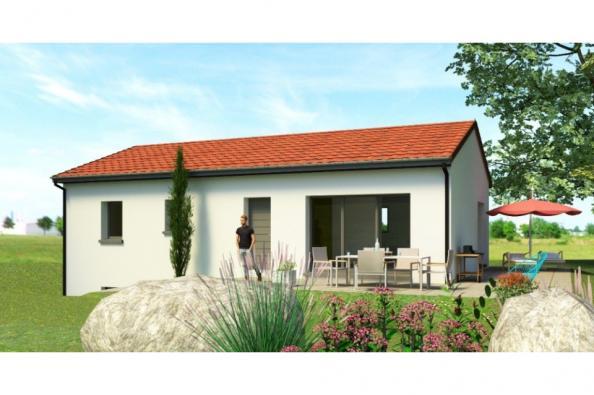 Modèle de maison SS88_P1543V5 3 chambres  : Photo 1