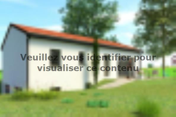 Plan de maison SS88_P1543V5 3 chambres  : Photo 1