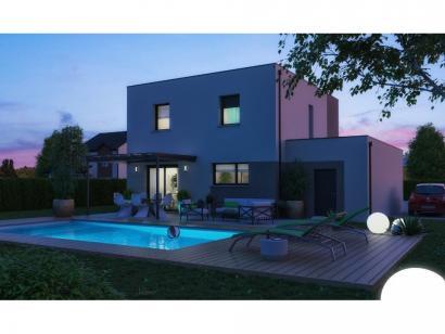 Maison neuve  à  Condé-Northen (57220)  - 239000 € * : photo 2