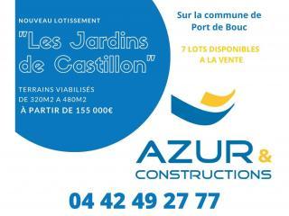 #EXCLUSIVITE Nouveau lotissement sur Port de Bouc