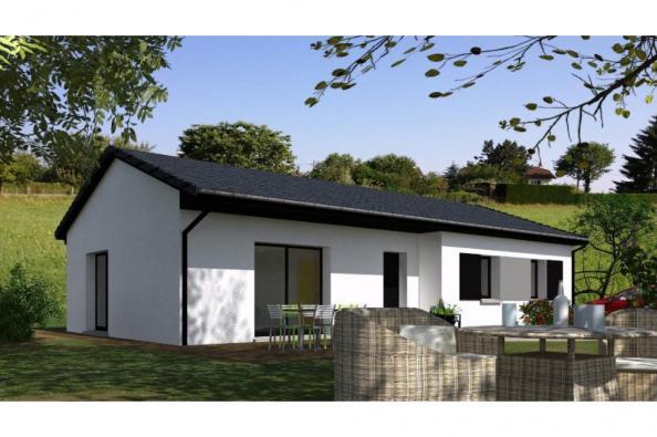 Modèle de maison PP93_P1148V3 3 chambres  : Photo 1