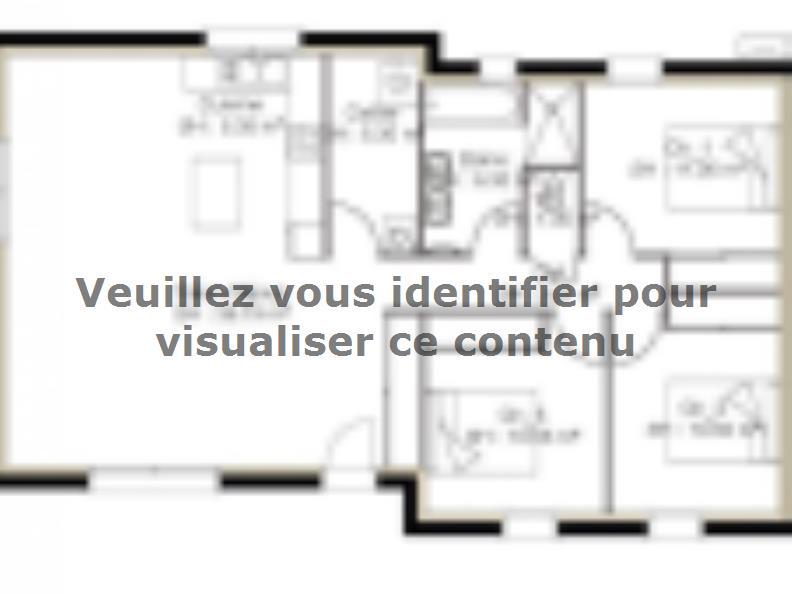 Plan de maison PP93_P1148V3 : Vignette 1