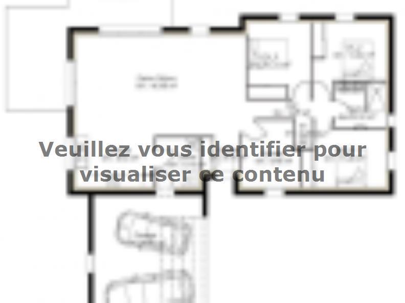 Plan de maison PP113_1104V2 : Vignette 1