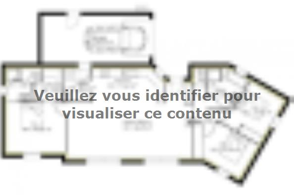Plan de maison PP111_P1698V6 5 chambres  : Photo 1