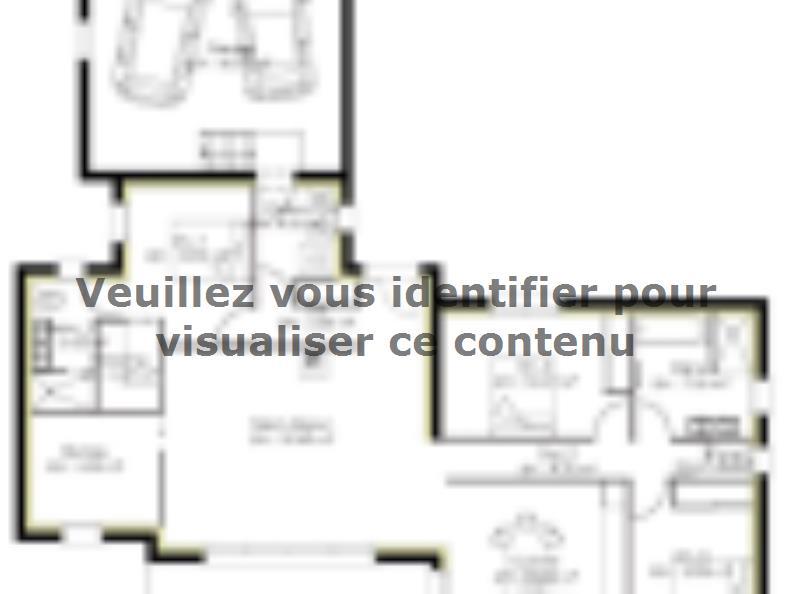 Plan de maison PP130_P1589V7 : Vignette 1