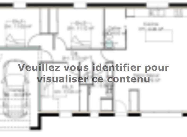 Plan de maison PPC94_P1098V3 : Vignette 1