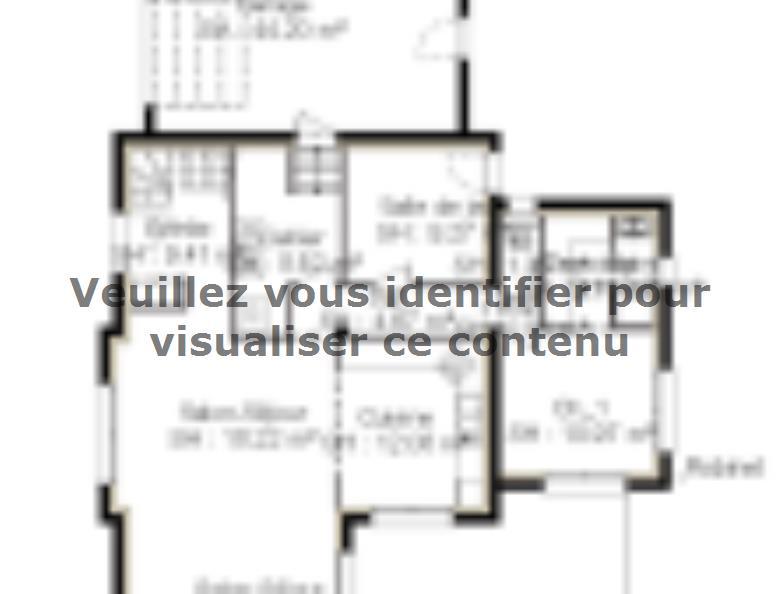 Plan de maison PPE167_P1371V5 : Vignette 1