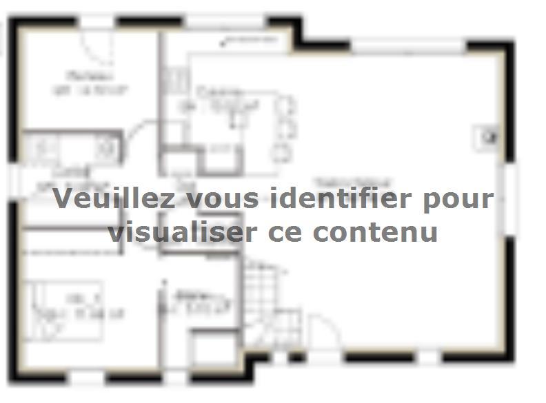 Plan de maison PPCA128_P614V6 : Vignette 1