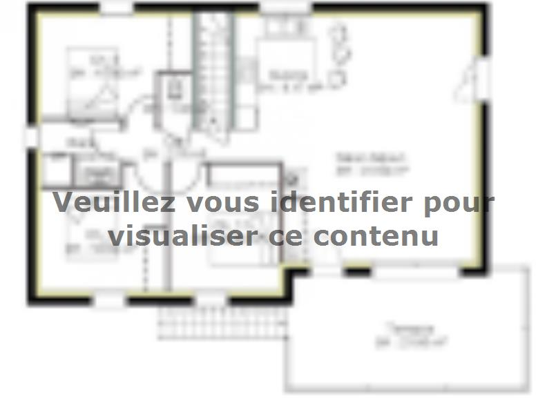 Plan de maison SS83_P1574V4 : Vignette 1