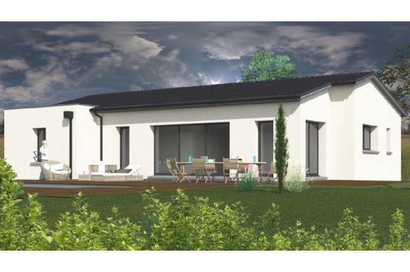 Modèle de maison SS125_P279 4 chambres  : Photo 1