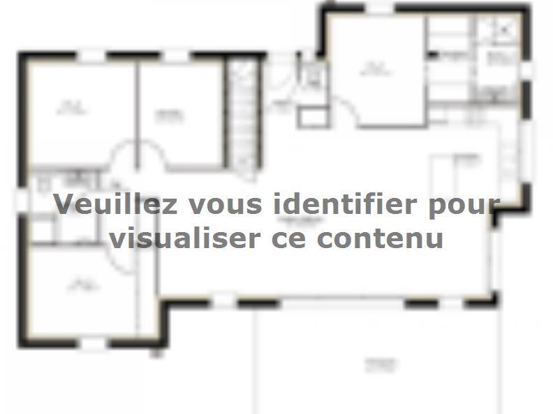 Plan de maison SS125_P279 : Vignette 1