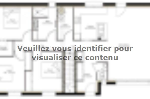 Plan de maison SSC113_P642V7 3 chambres  : Photo 1