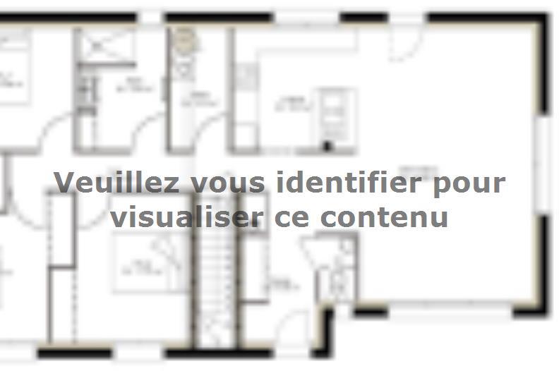 Plan de maison SSC113_P642V7 : Vignette 1