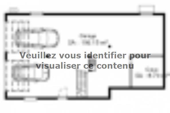Plan de maison SSC113_P642V7 3 chambres  : Photo 2