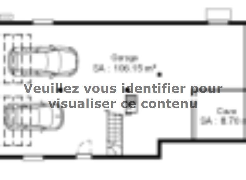 Plan de maison SSC113_P642V7 : Vignette 2