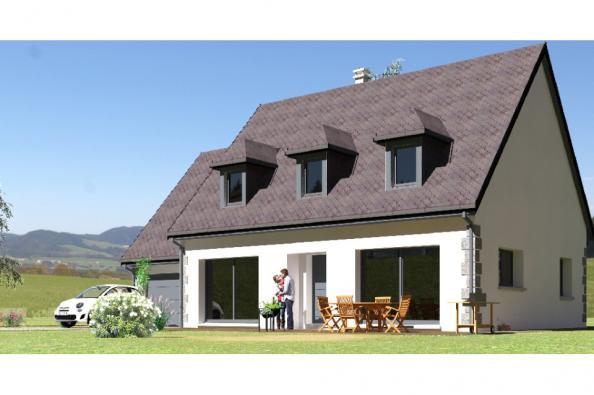 Modèle de maison PPCA139_P730V6 4 chambres  : Photo 1