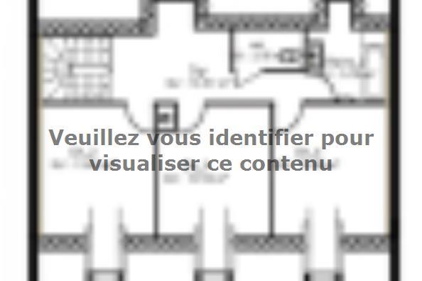 Plan de maison PPCA139_P730V6 4 chambres  : Photo 2