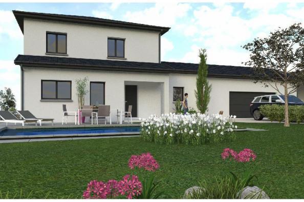 Modèle de maison PPE148_P1694V6 4 chambres  : Photo 1