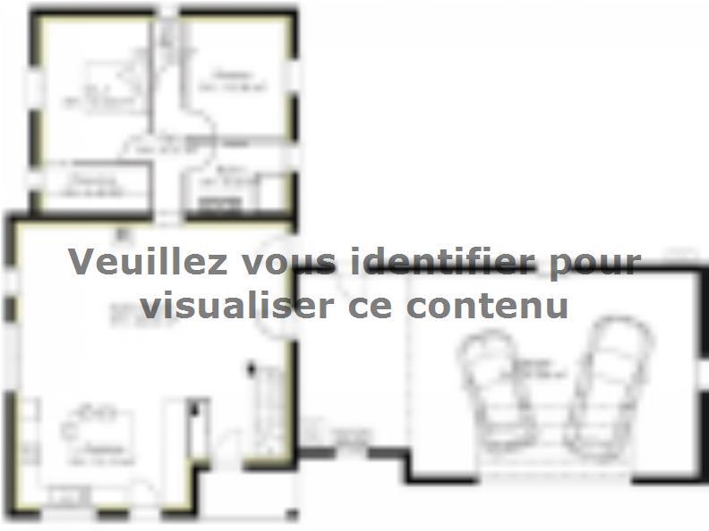Plan de maison PPE148_P1694V6 : Vignette 1