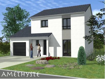 Maison neuve  à  Courcelles-Chaussy (57530)  - 199000 € * : photo 1