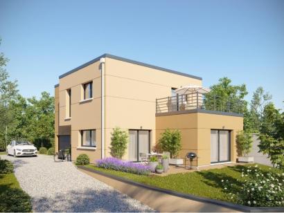 Modèle de maison AM-133-ETG-R-GI 3 chambres  : Photo 1
