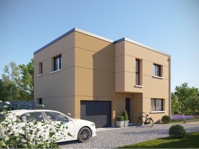 Modèle de maison AM-133-ETG-R-GI 3 chambres  : Photo 2