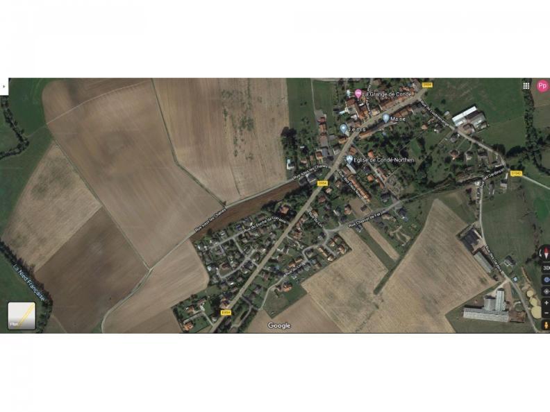Terrain à vendre Condé-Northen75300 € * : vignette 1